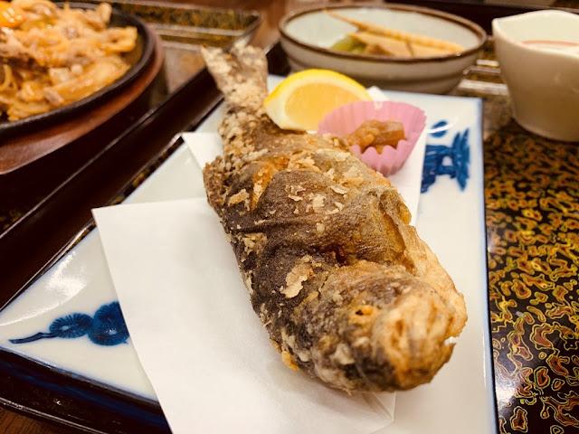 桂月食事處-炸鱒魚