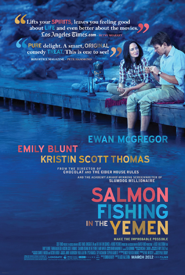 Salmon Fishing in the Yemen คู่แท้หัวใจติดเบ็ด [HD][พากย์ไทย]