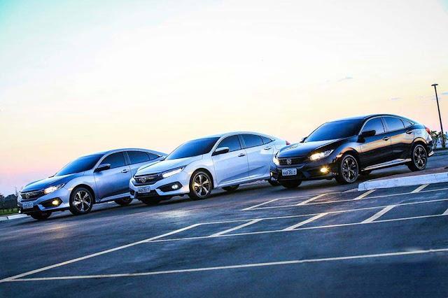 Novo Honda Civic 2017 - lançamento no Brasil