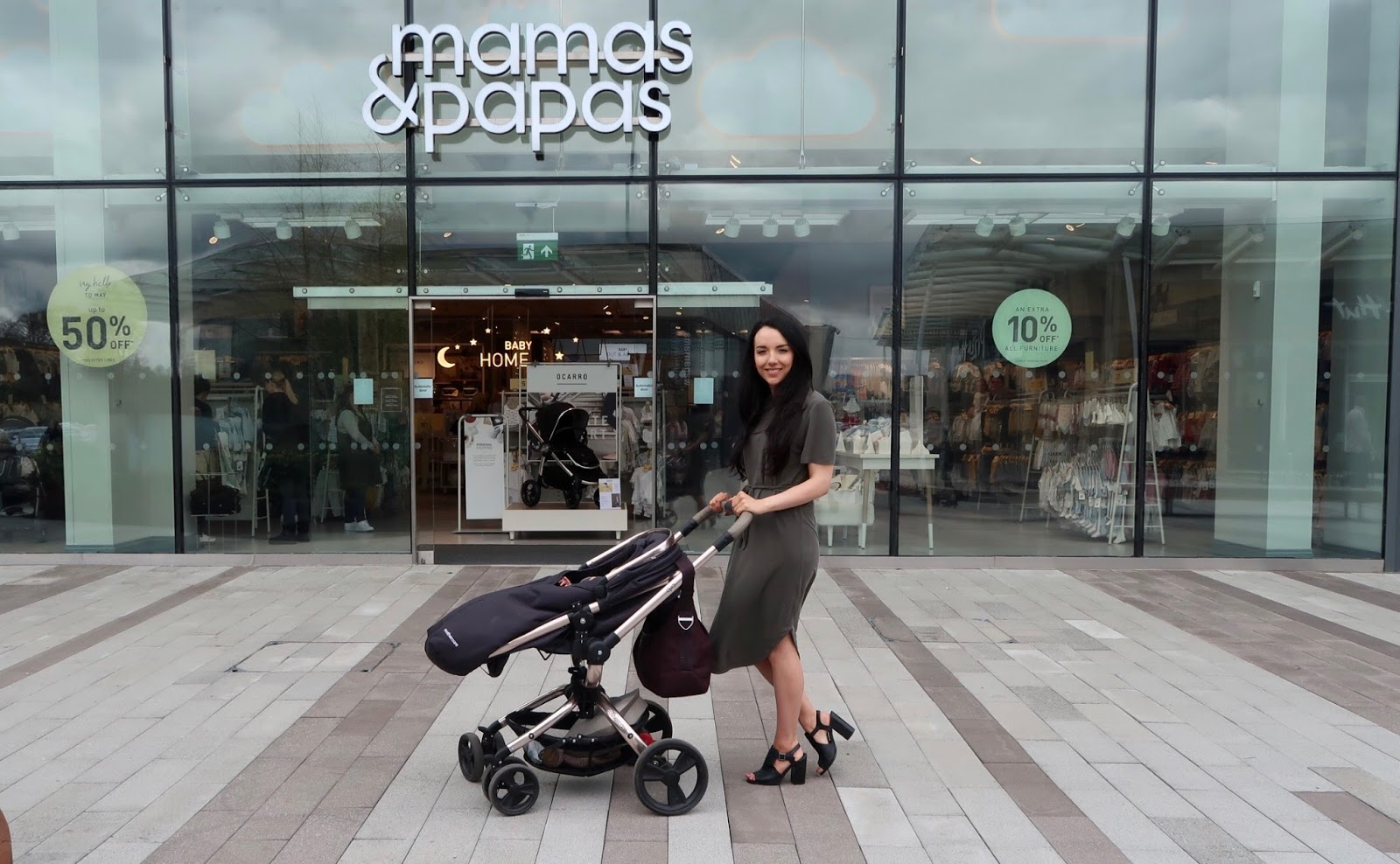 Mamas and Papas Personal shopping experience Store review Glasgow fort
