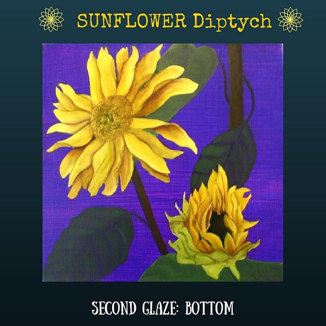 Second color glaze BOTTOM Sunflower