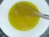 Gelatina de limón enfriándose