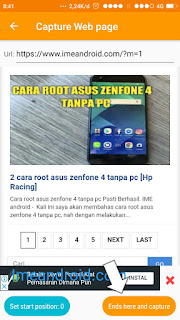 Cara screenshot panjang oppo
