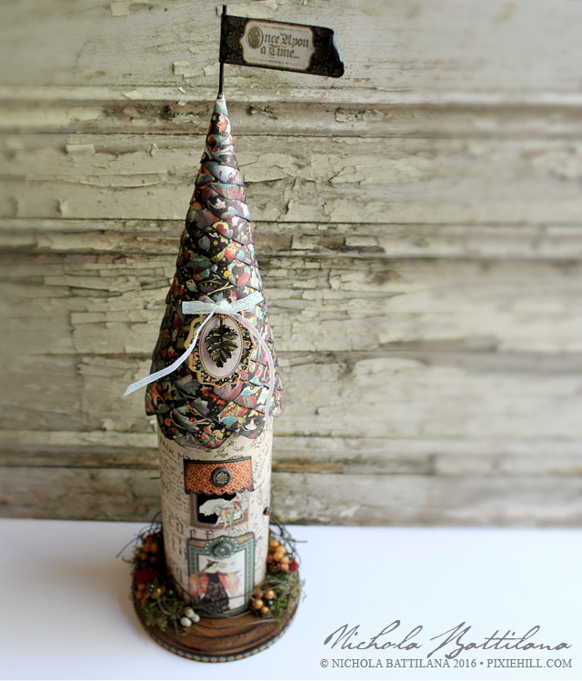 Fairy Tale Tower with Tutorial - Nichola Battilana