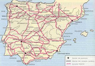 Calzadas en Hispania
