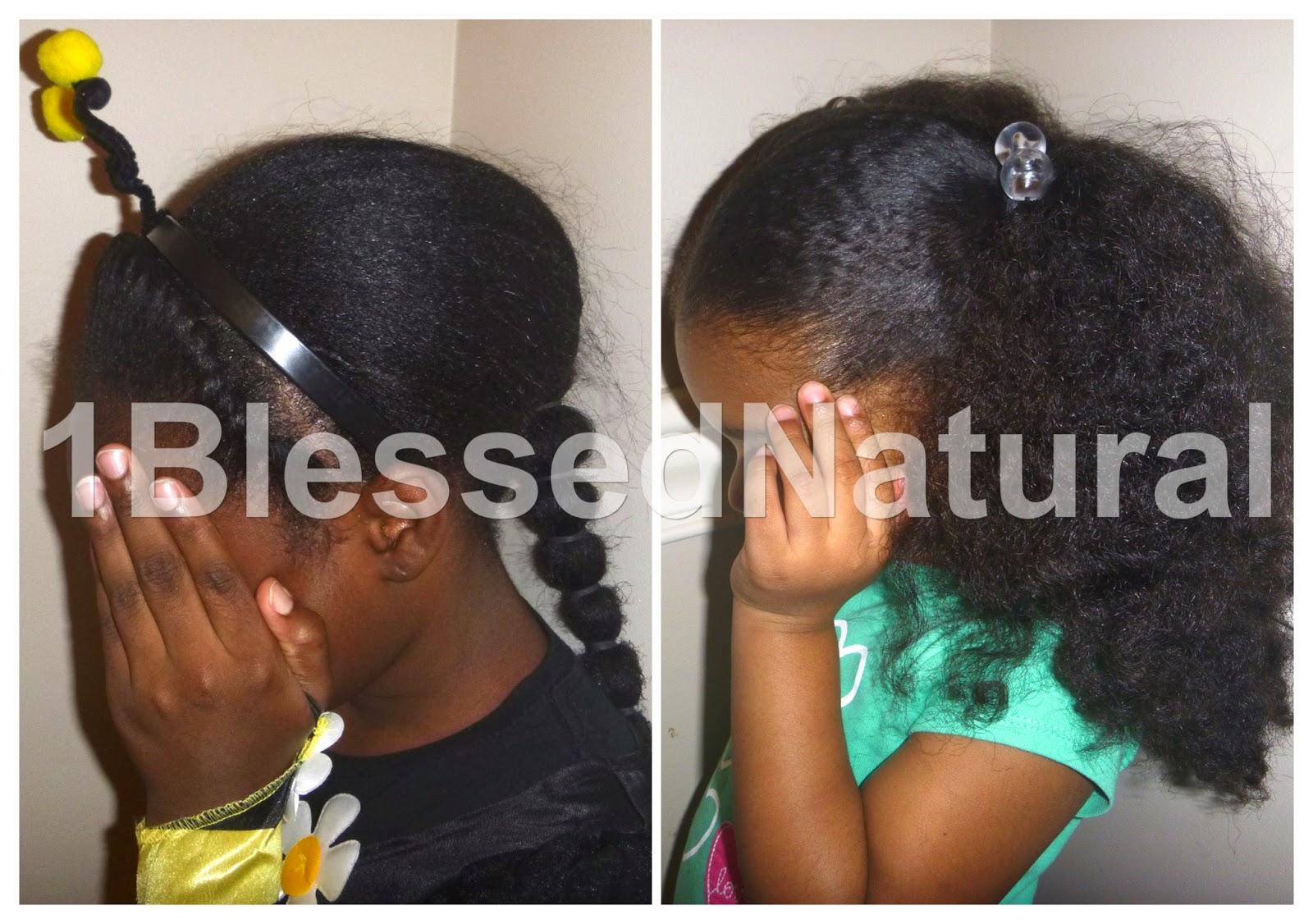 1bn Kids Little Girls Natural Hair Halloween Styles