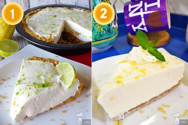 tarta de limón rápida y sin horno