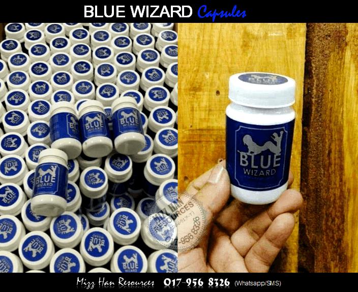 blue wizard capsule mhr stokis produk kecantikan