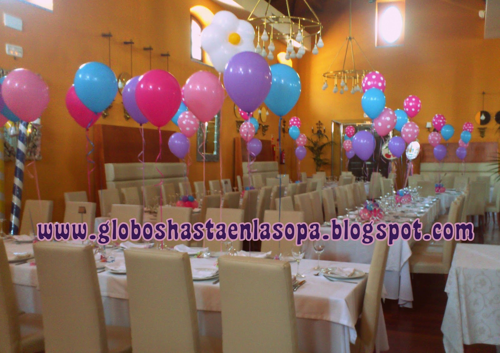 Como Decorar Un Local Para Matrimonio Decoration42 Decoracion Con Globos Para Bautizo