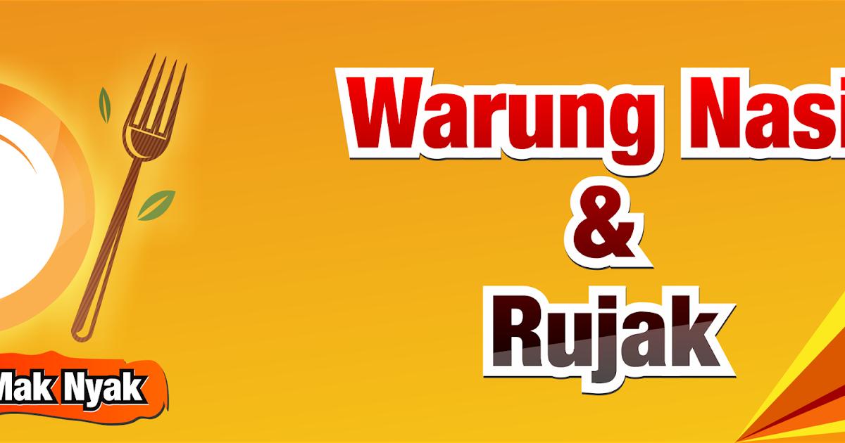 Desain Banner Warung Makan - Contoh Banner