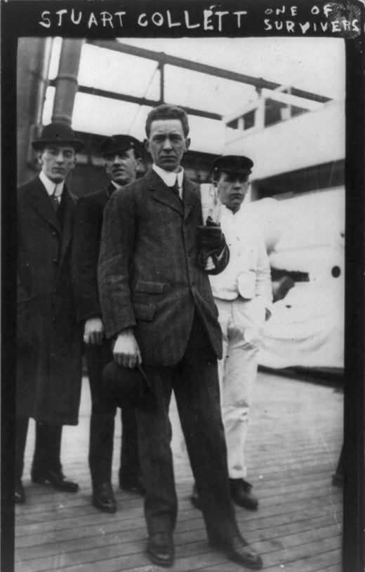 Rare Photographs of Titanic Survivors in 1912 ~ vintage ...