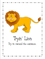 Image result for tryin lion reading strategy