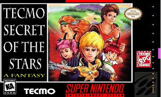 Tecmo Secret of the Stars [ SNES ]