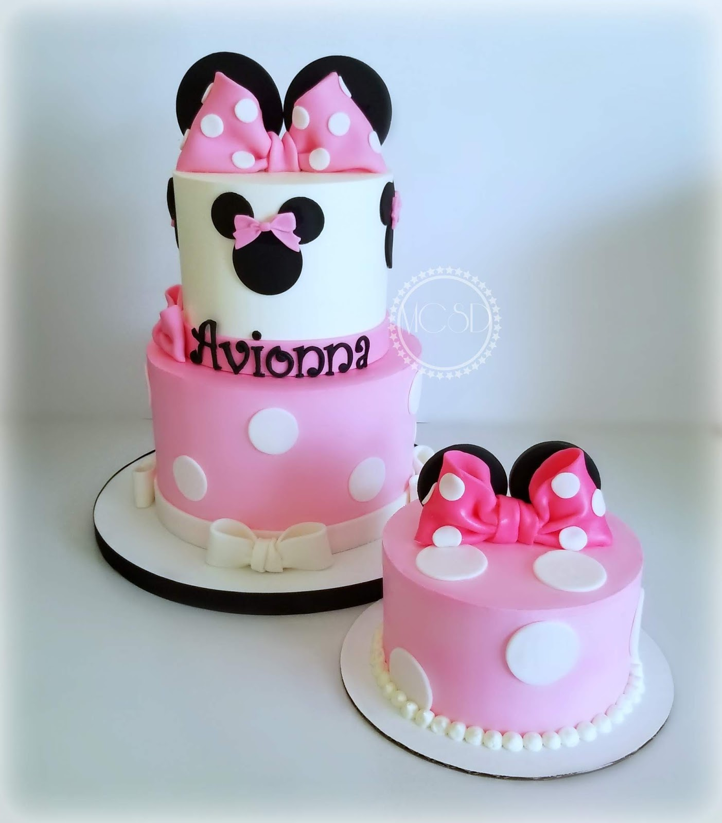 Peachy Cakesbyzana Minnie Mouse 1St Birthday Cake Funny Birthday Cards Online Unhofree Goldxyz