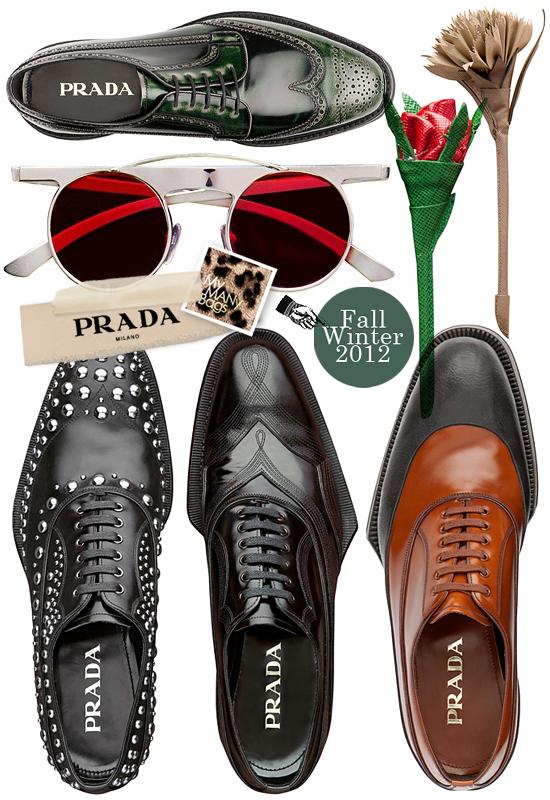 7d6bcbd66c754 Prada Fall Winter 2012 Mens Shoes