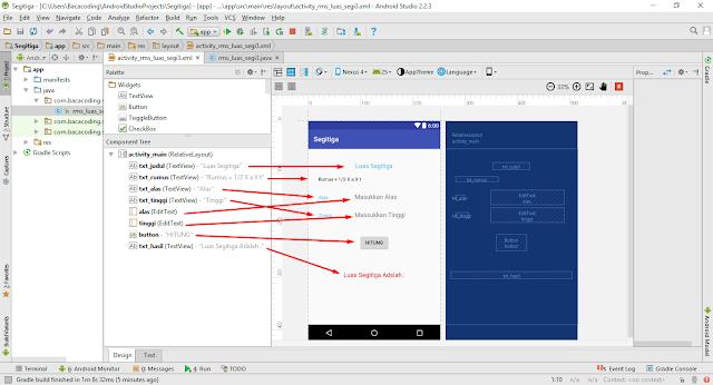 Cara Membuat Aplikasi Hitung Luas Segitiga Menggunakan Android Studio