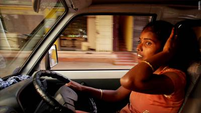 India's first woman taxi driver