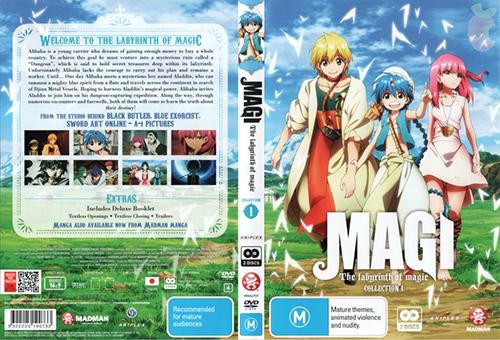 MAGI: The Labyrinth of Magic Torrent - HDTV