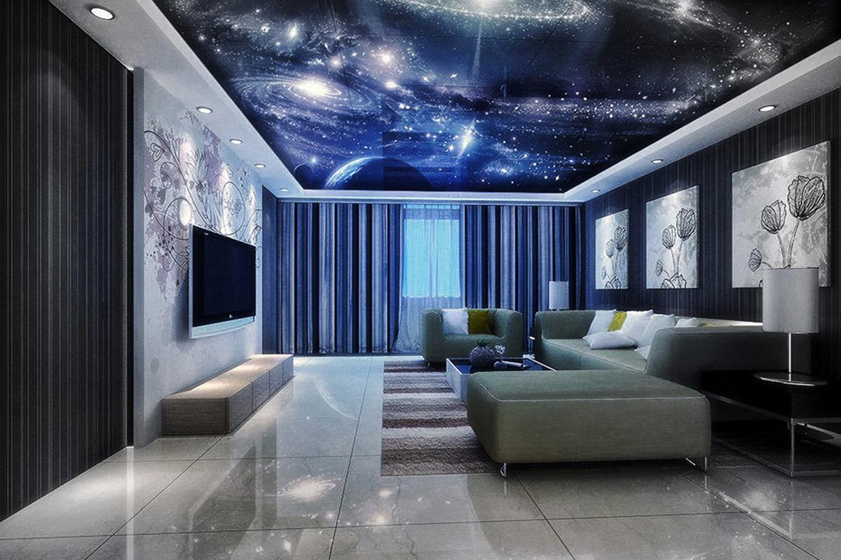 New 3d ceiling art designs for modern interior
