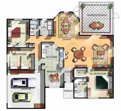 Design Floor Plan of House
