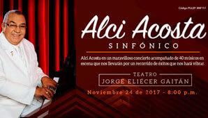 ALCI ACOSTA Sinfónico en Bogotá 2017