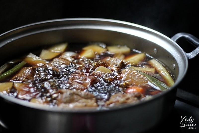 Boiling the Kakuni