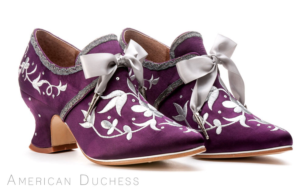 "American Duchess ""Martha Washington"" 18th century shoes"