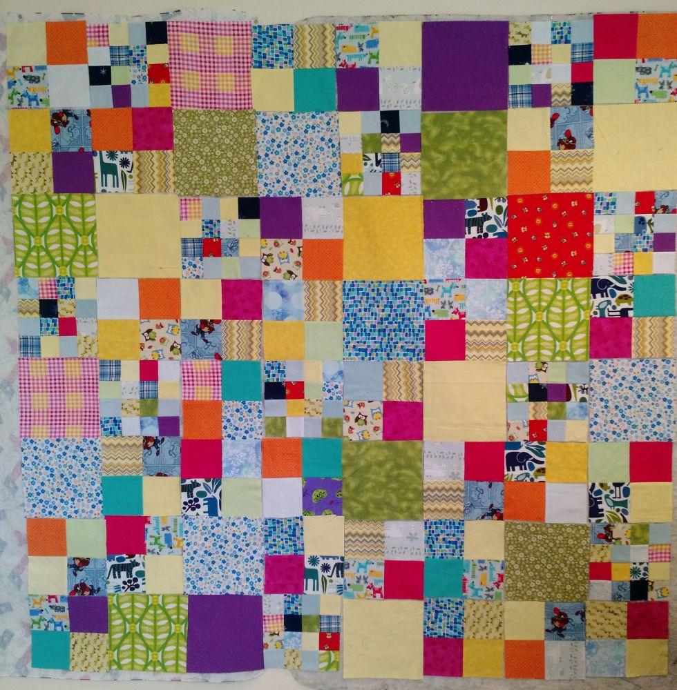 c9538e4cd6 Kat & Cat Quilts: Design Wall Flannel Scraps
