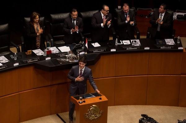 """El primer ministro de Canadá lo dijo claro a los senadores: """"Mejoren los salarios de los trabajadores mexicanos"""""""
