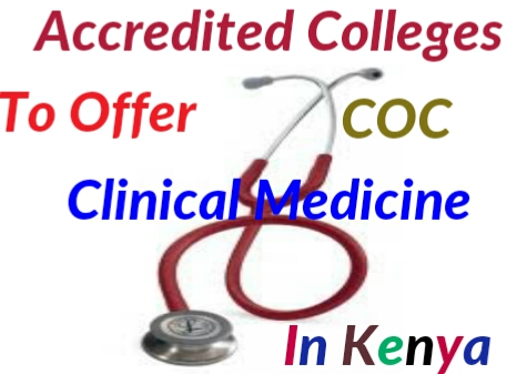Accredited college to teach clinical medicine and surgery course in Kenya