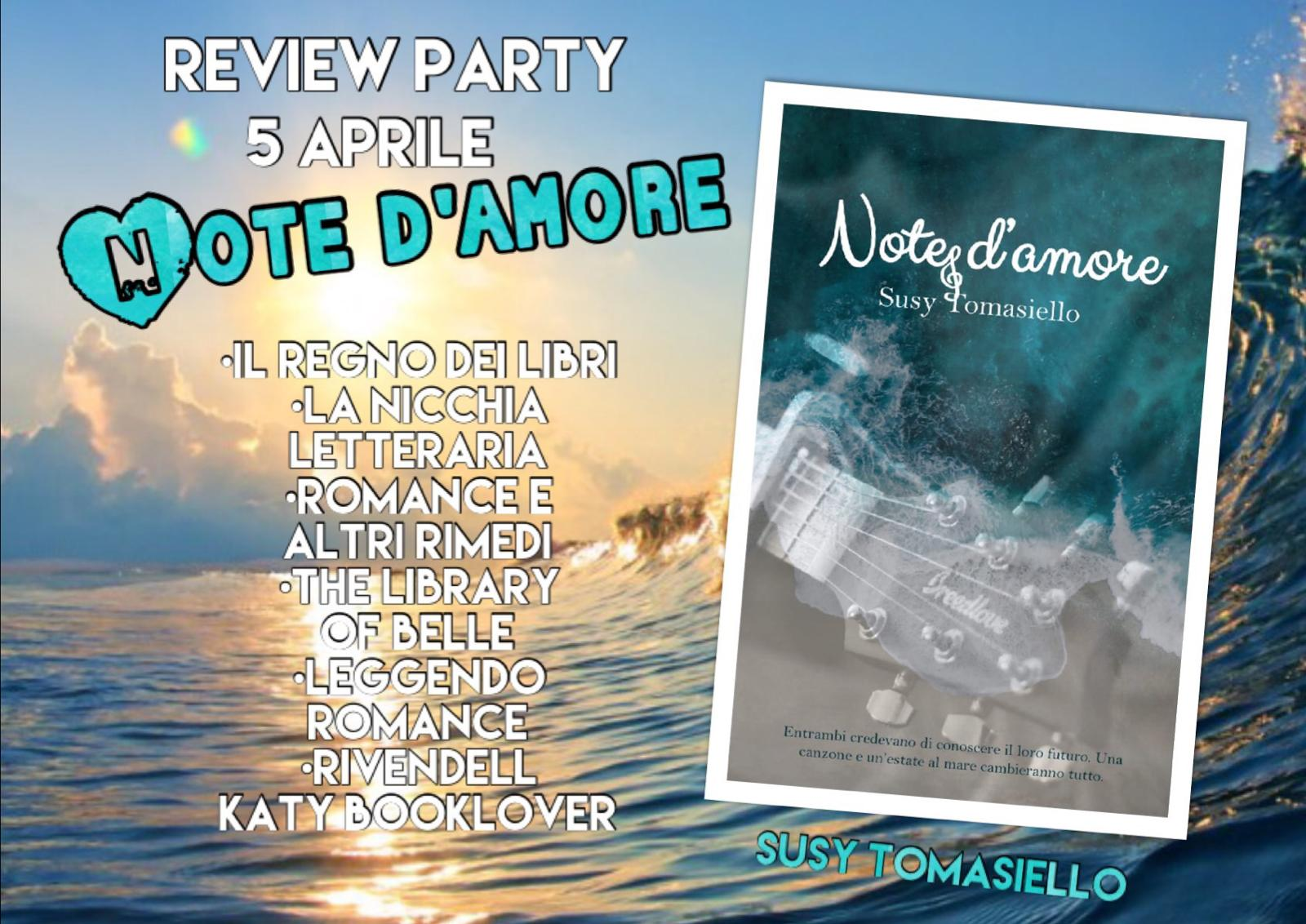 Note d'amore tappe