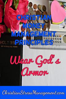 Christian money management Wear God's Armor