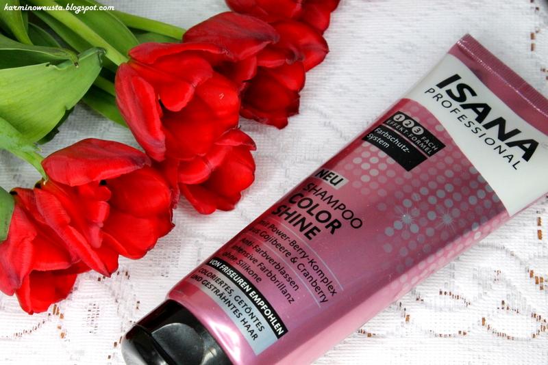 Isana Professional Color Shine szampon do włosów farbowanych