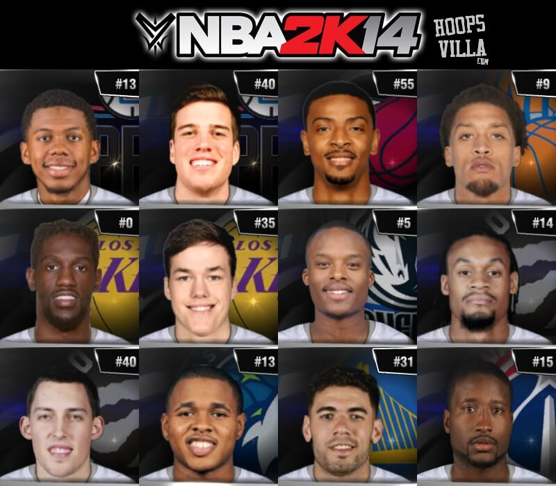 NBA 2k14 Roster update - August 21, 2017 - HoopsVilla