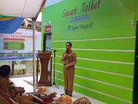 "Dr. Abdul Rahman Bando, M.P., M.Si., resmikan ""SMART TOILET"" SD Inpres Monginsidi"