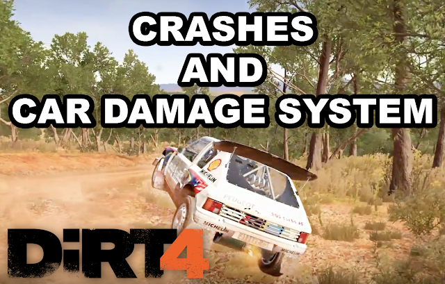 dirt 4 crashes damage system gamingtox