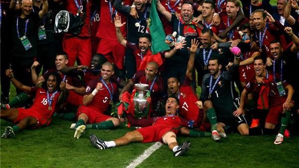 """بالأرقام.. مكافأت منتخب البرتغال فى """"يورو2016"""""""
