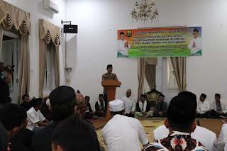Di Momentum LAILATUL IJTIMA, Kapolres Sukabumi Ajak Masyarakat Jaga Keamanan Dan  Ketertiban