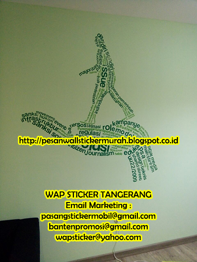 wall sticker dinding: jual wall sticker transparan di tangerang