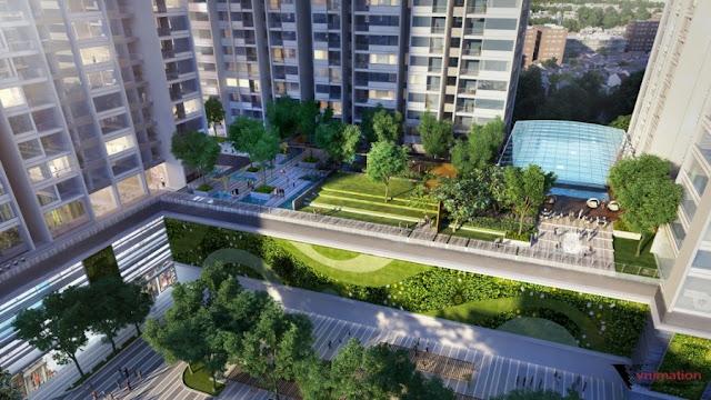 Sky Garden dự án The K Park