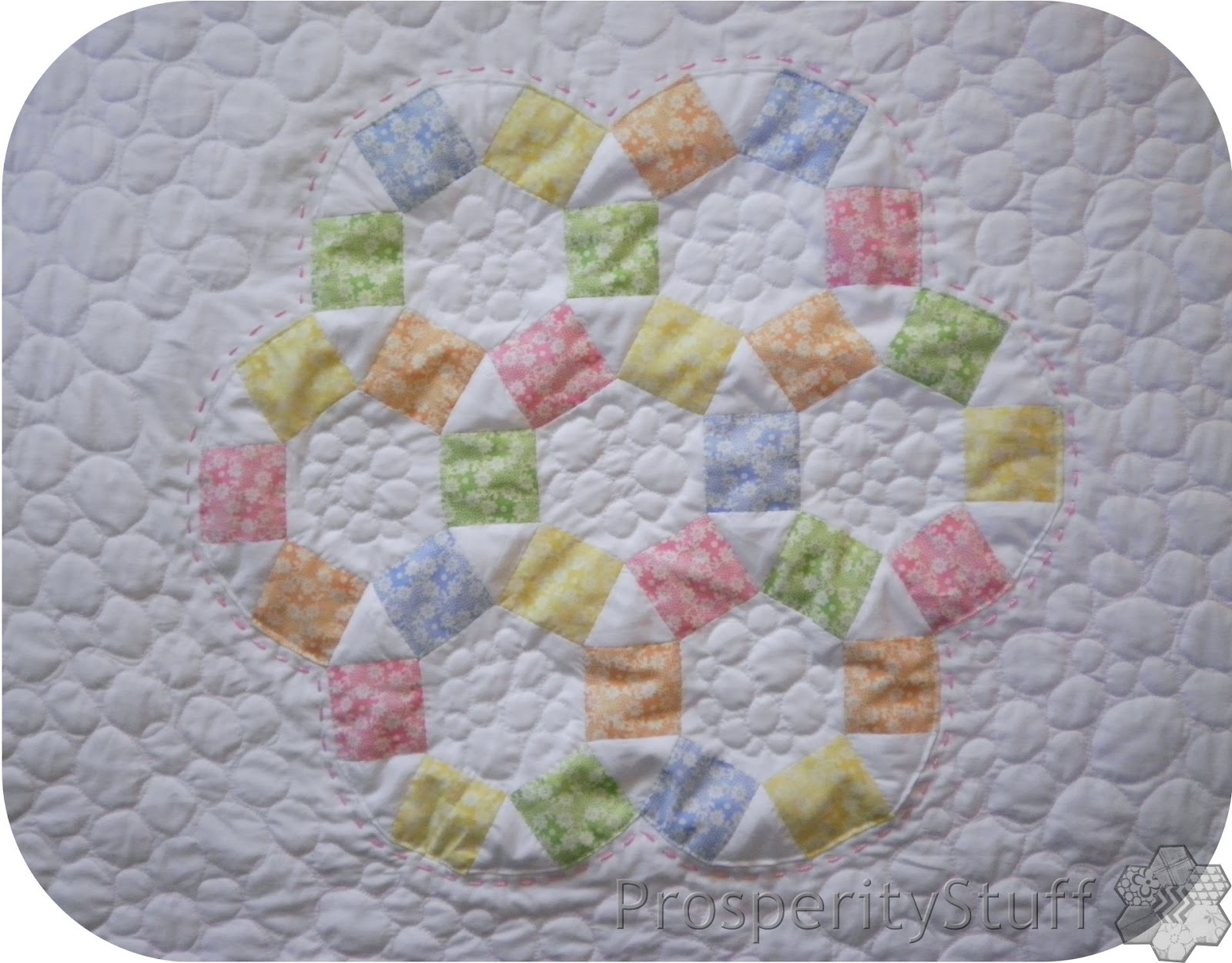 Edredon English.Prosperitystuff Quilts A Little Girly Quilt