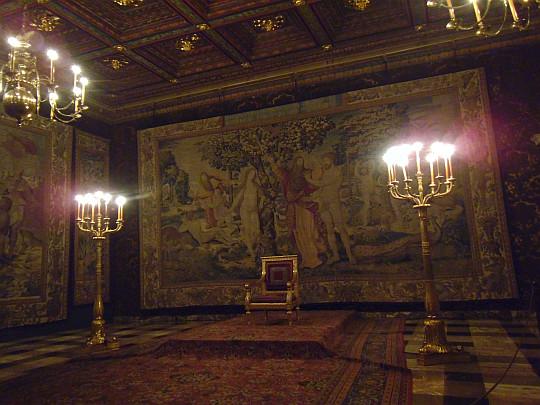 Zamek Królewski na Wawelu. Sala Senatorska.
