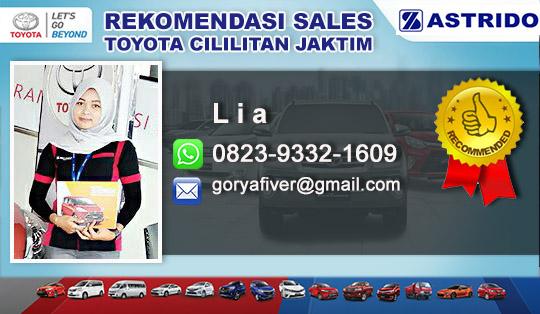 Rekomendasi Sales Toyota Cililitan Jakarta Timur