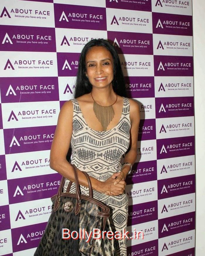 Suchitra Pillai, Malaika Arora Khan Hot HD Images At About Face skin care & Aesthetics Center Launch