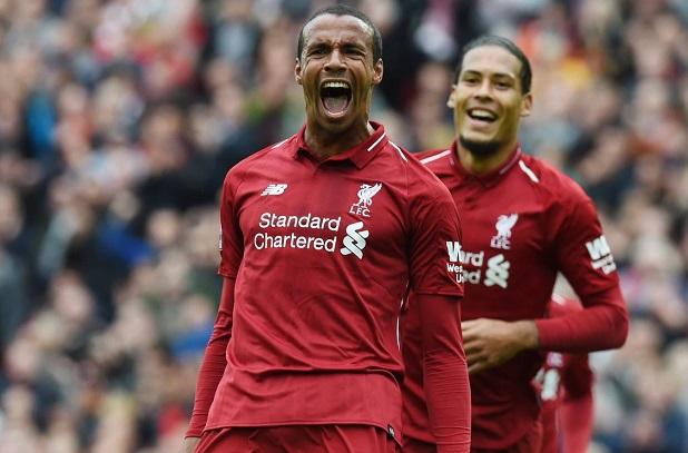 Vidéo - Angleterre: Joel Matip inscrit son premier but de la saison avec Liverpool