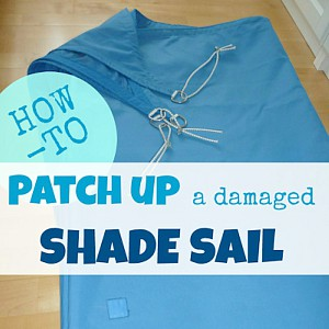How to Repair a Shade Sail