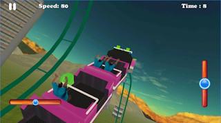 Hill Mountain Roller Coaster Mod Apk Auto Control