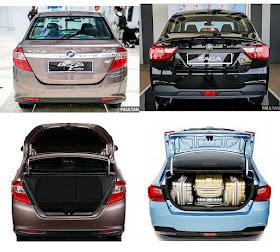 Perbandingan Perodua Bezza vs Proton Saga - BinMuhammad