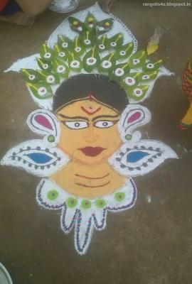 Creative Rangoli Patterns