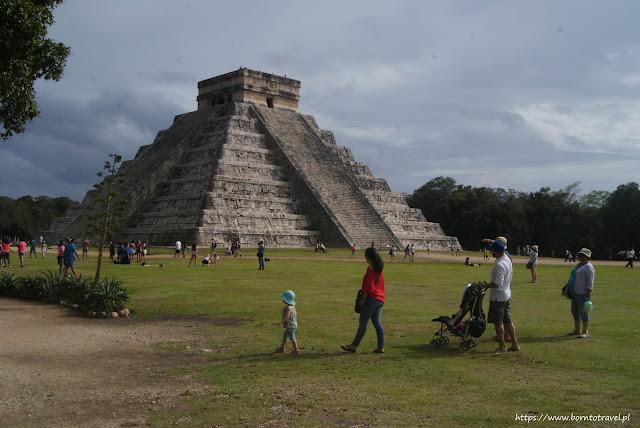 Meksyk - Chichen Itza turystycznie